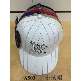 144 Units of Kids Ny Baseball Cap/ Hat - Kids Baseball Caps