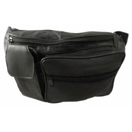 24 Units of Lambskin Leather Fanny Pack - Fanny Pack
