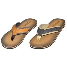 36 Units of Men's Casual Summer Flip Flop - Men's Flip Flops and Sandals