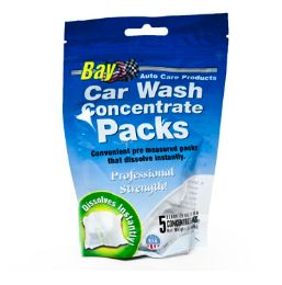 120 Units of Bay Car Wash Concentrate - Auto Cleaning Supplies