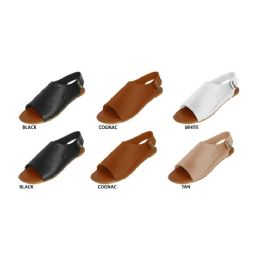 36 Units of Ladies Sandal Bootie With Back Snaps