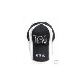 48 Units of USA Baseball Cap - Baseball Caps & Snap Backs