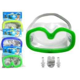 216 Units of Swim Goggles With Adjustable Strap - Summer Toys