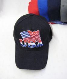 """36 Units of """"USA"""" Logo BaseBall Cap - Baseball Caps & Snap Backs"""