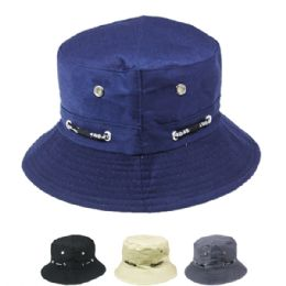 66 Units of Unisex Bucket Hat Assorted Colors - Bucket Hats