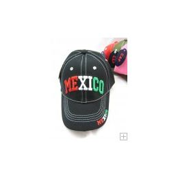 48 Units of Kids Snap On Mexico Cap - Kids Baseball Caps