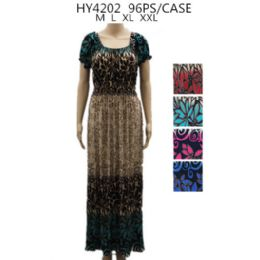 48 Units of Womans Long Fashion Summer Dress - Womens Sundresses & Fashion