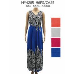36 Units of Womans Plus Size Summer Dress - Womens Sundresses & Fashion