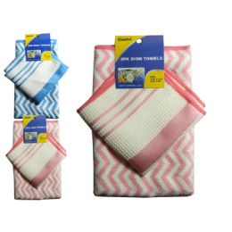144 Units of 2 Piece Dish Towel - Kitchen Towels