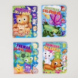 48 Units of Board Book Spanish Teaching Tabs - Educational Toys