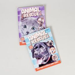 24 Units of Animal Rescue Color/Activity book - Coloring & Activity Books