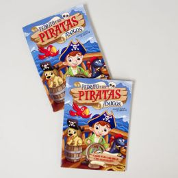 24 Units of Color/activity Book Bilingual Petey & Pirate - Coloring & Activity Books