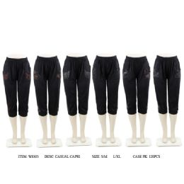 60 Units of CASUAL CAPRI - Womens Pants