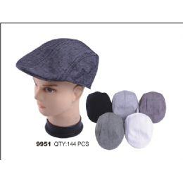 48 Units of MEN'S BERET HAT - Fedoras, Driver Caps & Visor