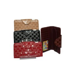 96 Units of Fold Over Wallet - Wallets & Handbags