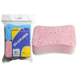 96 Units of 2 Piece Scrubbers - Scouring Pads & Sponges