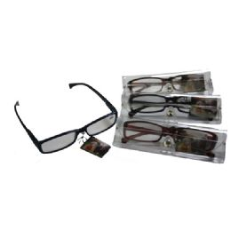 300 Units of READING GLASSES IN CASE - Reading Glasses