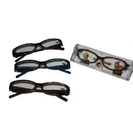150 Units of READING GLASSES IN CASE - Reading Glasses
