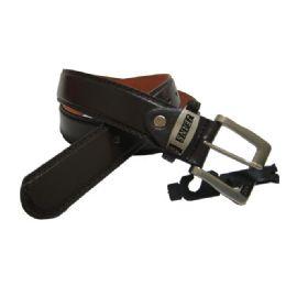 144 Units of MEN'S BROWN BELT - Mens Belts