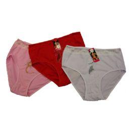 144 Units of Ladies Design Underwear - Womens Panties & Underwear