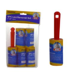 72 Units of 5 Piece Tear Off Lint Rollers - Personal Care Items