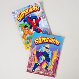 24 Units of Color/activity Book Spanish Super Heros 96pg In 24pc Pdq 2 Assorted - Coloring & Activity Books