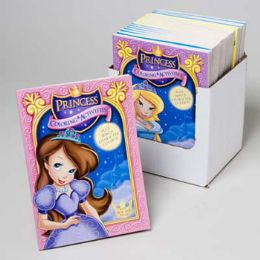 24 Units of Coloring Book Princess 96 Pages In Pdq 2 Asst W/bonus Cut Outs - Coloring & Activity Books