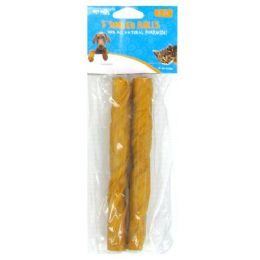 60 Units of 2PC 4 INCH SMOKED PORKHIDE BONES 35-40G - Pet Chew Sticks and Rawhide