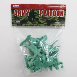 "96 Units of 12pc 3"" Army Action Figs. - Action Figures & Robots"