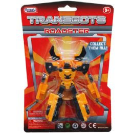 "48 Units of ""transbots"" Roadster Action Figure - Action Figures & Robots"