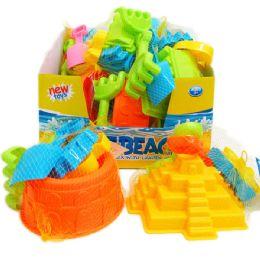 48 Units of ASST BEACH TOYS IN NET BAG & DISPLAY BOX - Beach Toys