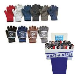 252 Units of Dsd - Winter Gloves 252pc 7 Asst Styles And Colors - Knitted Stretch Gloves