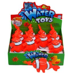 72 Units of PULL STRING WATER TOYS - Summer Toys