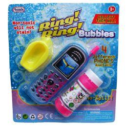 """72 Units of 5.5"""" BUBBLE CELLPHONE - Bubbles"""