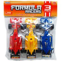 "48 Units of 3 Piece ""Formula Racers"" Action Cars - Cars, Planes, Trains & Bikes"