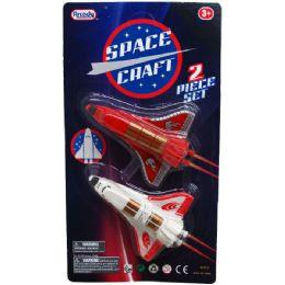 96 Units of 2 Piece Mini Space Shuttles - Cars, Planes, Trains & Bikes