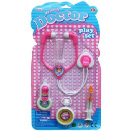 48 Units of 5PC MY FAMILY DOCTOR PLAY SET IN BLISTER CARD - Toy Sets