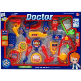 12 Units of 18PC BOY'S DOCTOR PLAY SET IN WINDOW BOX - Toy Sets
