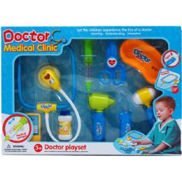 12 Units of 9pc Doctor Play Set In Window Box - Toy Sets