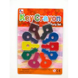 72 Units of Key Crayon Party Set - Chalk,Chalkboards,Crayons