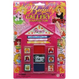 72 Units of Beauty Gallery Fun Stamping Play Set - Craft Kits
