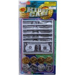 72 Units of 60PC KIDDY CASH-PLAYING MONEY IN BLISTER CARD - Educational Toys