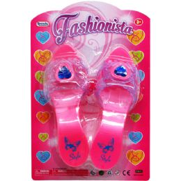 """36 Units of 7"""" FASHIONISTA TOY SHOES IN BLISTER CARD - Novelty Toys"""