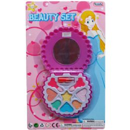 72 Units of Shell Shape MakE-Up Beauty Set In Blister Card - Girls Toys