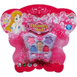 48 Units of Make Up Beauty Set In Blister Card - Toy Sets