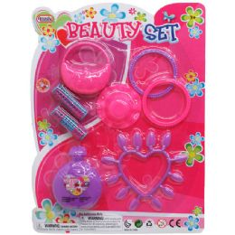 48 Units of 8PC BEAUTY PLAY SET IN BLISTER CARD - Toy Sets