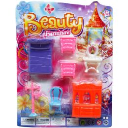 48 Units of BEAUTY FURNITURE - Toy Sets