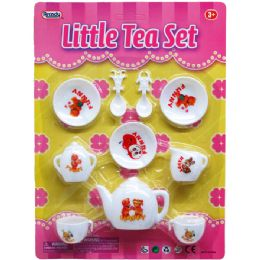 48 Units of LITTLE TEA SET IN BLISTER CARD - Toy Sets