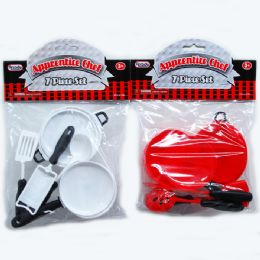96 Units of Apprentice Chef Cooking Set In Poly Bag Header A - Girls Toys