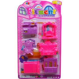48 Units of FITMENT FURNITURE SET - Toy Sets